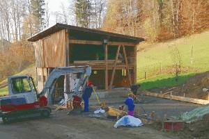 Baubeginn